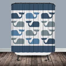 gray and blue shower curtain. whale shower curtain gray and blue
