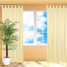 4x Blickdichter Vorhang Schlaufenschal Fensterschal Gardine Mit