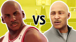 1V1 Michael Jordan VS LaVar Ball be ...
