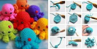 Amigurumi Crochet Patterns Awesome Mini Amigurumi Crocheted Octopus [FREE Crochet Pattern]