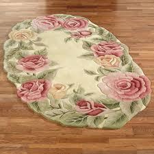 nice winsome flowers oval target bathroom rugs on glossy laminate floors