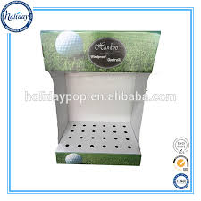 Golf Club Display Stand Golf Holder Display Stand Retail Cardboard Golf Club Display Stand 54