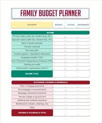 Family Budget Spreadsheet Template Free Family Budget Spreadsheet