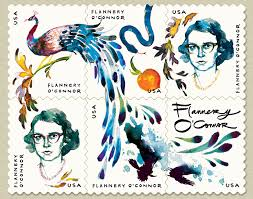 a stamp of good fortune work in progress flannery o connor stamps