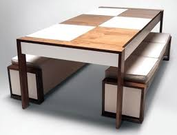 modern dining table with bench. Contemporary Dining Room Sets With Bench N Inside Decor In Fantastic Modern Table