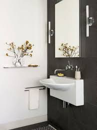 wall mounted sinks for small bathrooms. Smart Wall Mount Sinks For Small Bathrooms Keeping The Flooring Spacious: Pleasant Mounted M