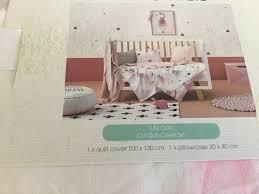 adairs kids tutu cute ballet cot jnr bed quilt cover set ballerina pink