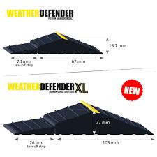 wd wdxl comparison weather defender rubber floor seal