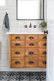25 unique bathroom vanities made from furniture antique hardware cabinet life on kaydeross creek