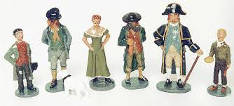 tommy atkins traditional hand painted toy iers catalogue  charles dickens figures oliver twist