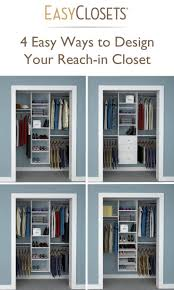 Small Bedroom Closet 17 Best Ideas About Small Closet Organization On Pinterest Small