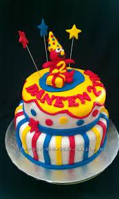 Coolest 2 Tiers 3d Elmo Cake