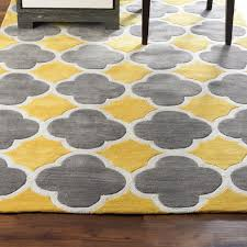 rugs curtains charming grey yellow and white area rug for