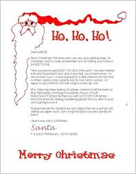 Free Letter From Santa Word Template Free Letter From Template Word Fresh Letters From Templates