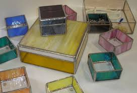 Stained Glass Jewelry Box Designs Stained Glass Jewelry Box Gomm Stained Glass