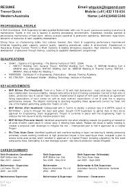 Boiler Maker Resume Sample | Ipasphoto