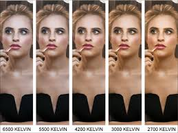 Portrait Lighting Chart The Colour Temperature Guide To Lighting Make Up Spectrum