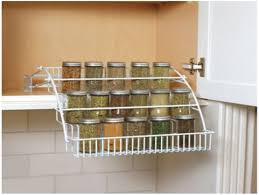 Kitchen Spice Rack Kitchen Counter Shelf Rack Contemporary Sliding Kitchen Spice