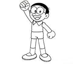 Polish your personal project or design with these nobita transparent png images, make it even more personalized and. Nobita Is Confident Coloring Page Free Printable Coloring Pages For Kids