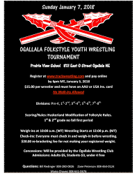 pre register event flyer waverly wrestling