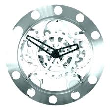 moving gear wall clock s india maples 12 inch glass cover moving gear wall clock