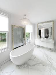 White Modern Bathroom Pictures