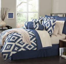 baby kids awesome diamond ikat bedding set with bed skirt and