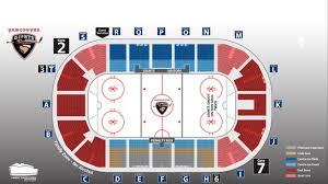Langley Events Centre Seat Map Vancouver Giants