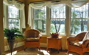 Living Room Ideas:Living Room Window Ideas Sheer Swags Brown And Windows  Collection Item Unique Photo