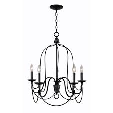 home decorators collection rivy west 5 light oil rubbed bronze chandelier with silver highlights