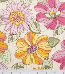 Quilter's Premium Fabric-Gilded Ikat : premium quilting fabric ... & Legacy Studio Fabric-Bobbish Flower Large Floral : quilting fabric & kits :  fabric : Adamdwight.com