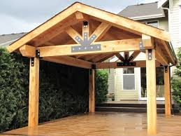Plain Wood Patio Cover Ideas 25 Roof On Pinterest Outdoor Pergola And Design Inspiration