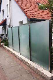Die Besten 25 Glaszaun Ideen Auf Pinterest Windschutz Glas Windschutz Und Sichtschutz Aus Edelstahl Und Glas In Hamburg