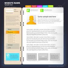 web site design template stock vector © tumanyan 4239186 website title page design template vector by tumanyan