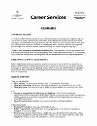 Resume Example For Jobs 100 Beautiful Job Resume Examples No Experience Resume Templates 58
