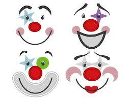Girl Clown Face Designs Pretty Clown Face Designs Google Search Clown Faces