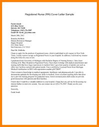11 Nursing Cover Letter Samples Job Apply Form
