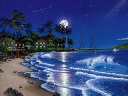 tropical landscape desktop backgrounds. Free Desktop Wallpapers Tropical Seaside Abstract Landscape Background Intended Backgrounds