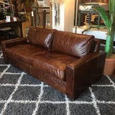 restoration hardware petite maxwell chair. restoration hardware petite maxwell leather sofa - image 4 of 9 chair r