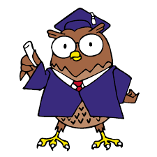 Image result for owl graduation small purple