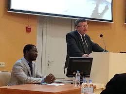 Поздравляем Аллана Тембо с защитой кандидатской диссертации  Защита диссертации Выступление научного руководителя д б н проф И И Выступление науч руководителя