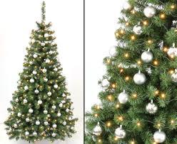 Künstliche Weihnachtsbäume 210cm Mit Deko Kaufen