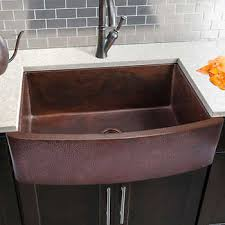 large kitchen sink. Hahn Copper Series Handmade Extra Large Single Sink Kitchen