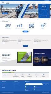Design Utility Website Client Name El Paso Electric Company Url Ir Epelectric Com