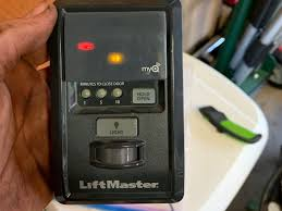 Liftmaster Garage Will Not Open Red Yellow Led Blink And