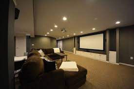How To Design A Basement Stunning Finished Basements Your Bat Cave HomeAdvisor
