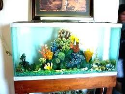 fish decoration ideas tank cool aquarium diy betta hanger patchwork blue