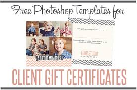 Photography Gift Certificate Template Free Photography Gift Certificate Template Free Gift Certificate