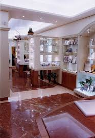 Fashion Designs Shopping Mall Building Red Jade Polished Faux Red Marble Floors