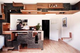 small space furniture design. Cloud Collective Creates A Fun Furniture Design For Small Spaces With Great Utility Space O